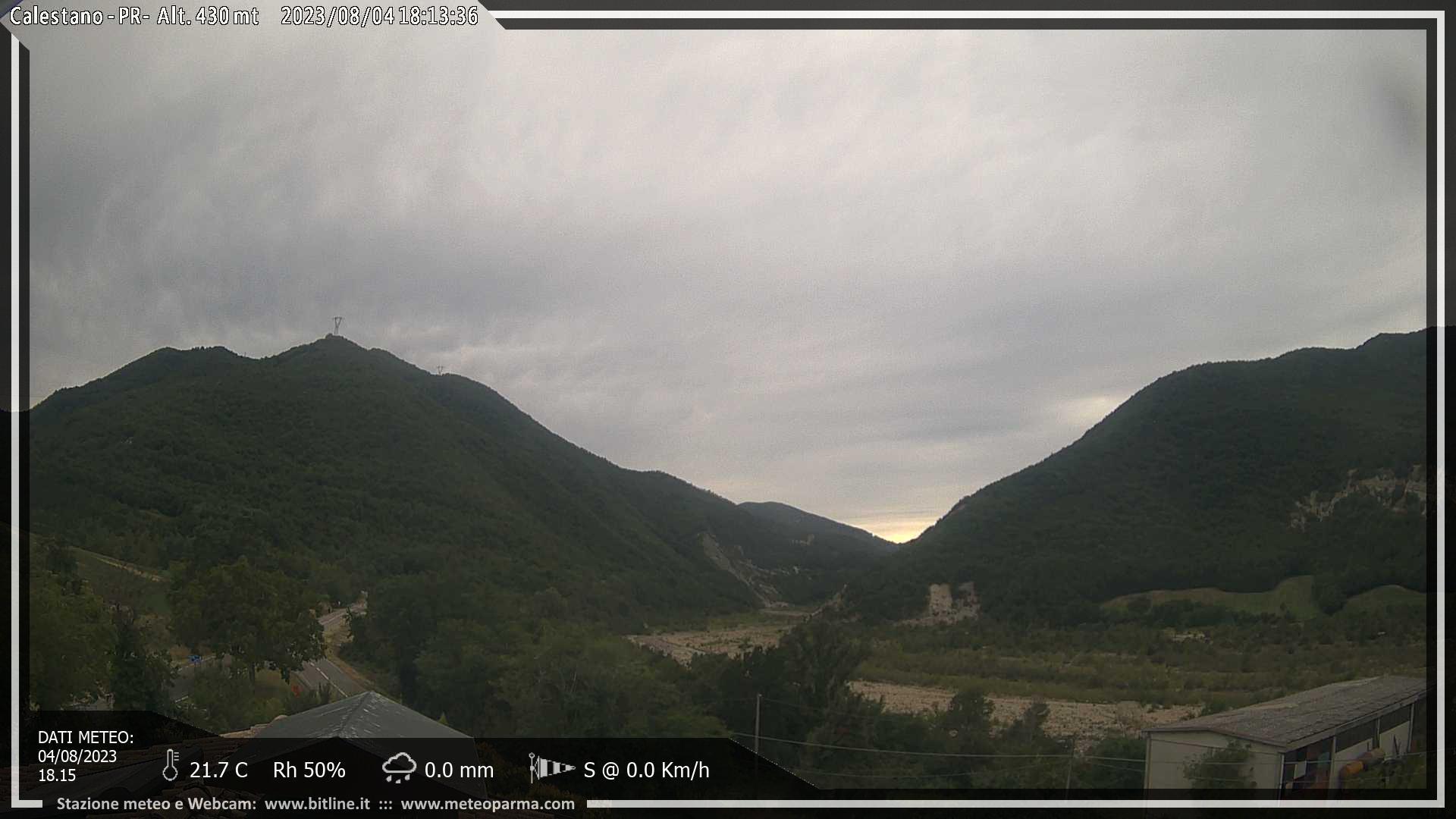 webcam calestano