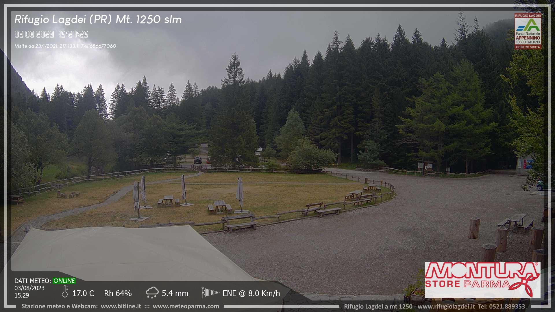 Webcam Rifugio Lagdei - Loc. Corniglio (PR)