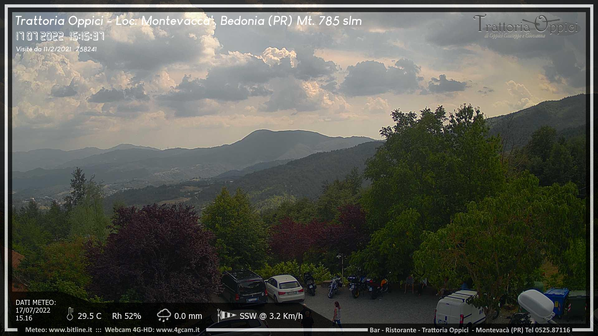 Montevacà - Trattoria Oppici