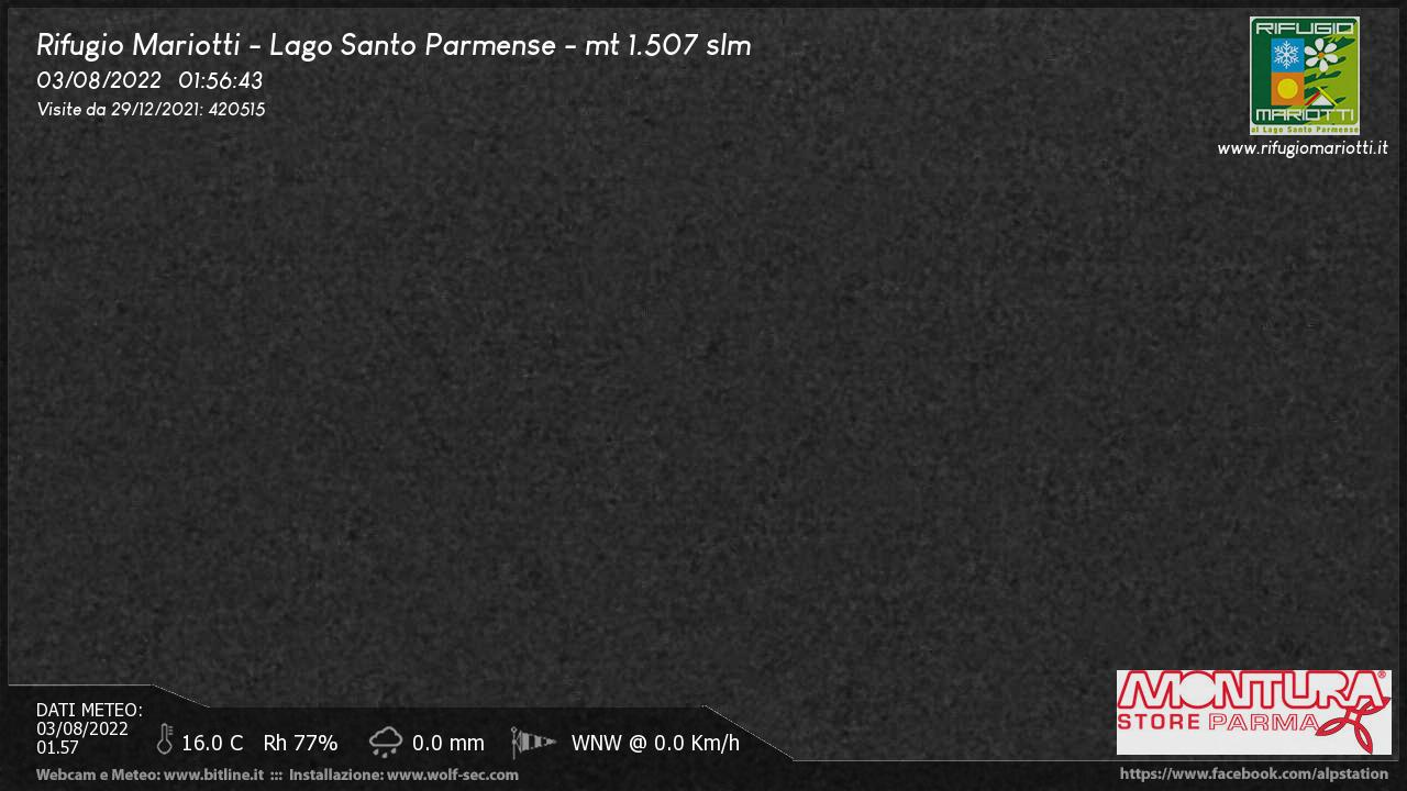 webcam lago santo